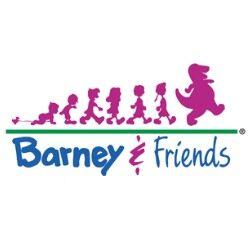 logo Barney & Friends RCA rgb hex cmyk pantone wikicolors