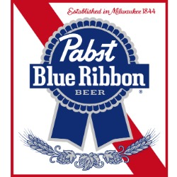 logo Pabst Blue Ribbon rgb hex cmyk pantone wikicolors