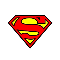logo Superman squarepants rgb hex cmyk pantone wikicolors
